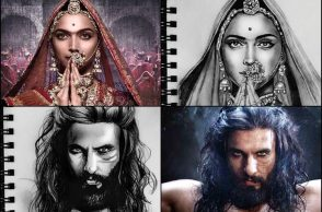 Padmavati inspired artwork