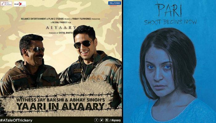 Pari, Aiyaari, posters