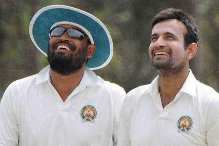 Irfan Pathan gets emotional while celebrating Yusuf Pathan's Ranji ton, leaves his bat at non-striker's end — WatchVideo