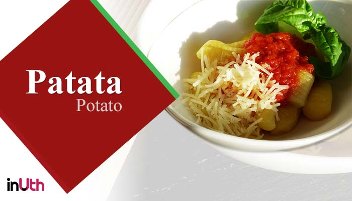 Potato, italian food