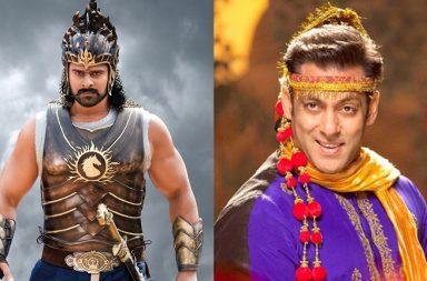 Prabhas in Baahubali 2, Salman Khan in Prem Ratan Dhan Payo