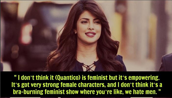 Priyanka Chopra Feminism