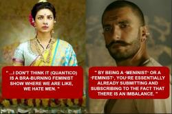 Priyanka Chopra to Ranveer Singh: 8 celebrities who don't understand what Feminism means