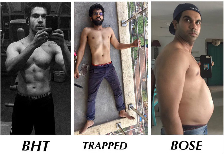 Rajkumar Rao transformation