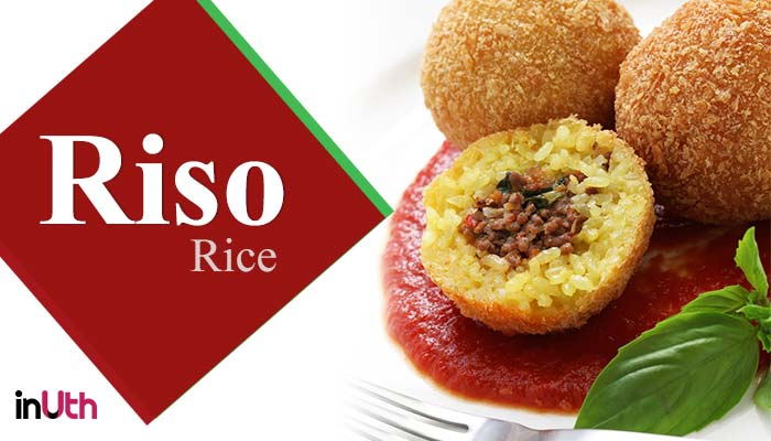 Rice, italian food