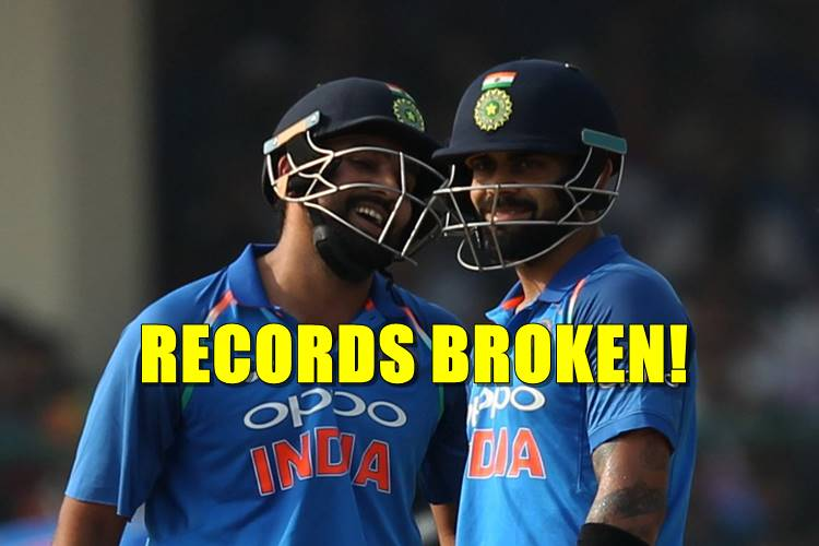 Rohit Sharma hits 15th ODI ton, breaks and creates a number of records!