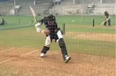 Ross Taylor, Ross Taylor six, Ross Taylor practice session, Ross Taylor sixes, India vs New Zealand, New Zealand vs India, New Zealand tour of India, New Zealand vs Board President's XI