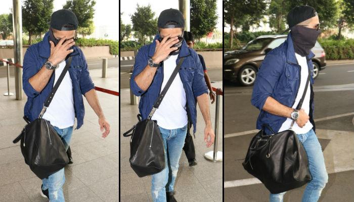 Shahid Kapoor, airport, IANS photos