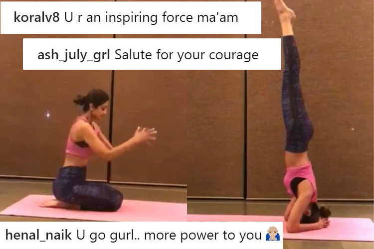 Shilpa Shetty conquers her fear of this Yoga asana after 15 years — Watch