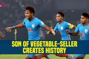 Jeakson Thounaojam first Indian to score a goal at FIFA World Cup