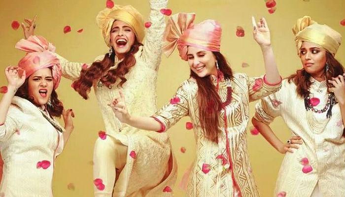 Sonam Kapoor, Kareena Kapoor, Veere Di Wedding, poster 1