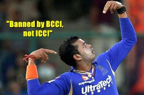 S Sreesanth, Indian players who have played for another country, BCCI, S Sreesanth ban, S Sreesanth fixing row, High Court, BCCI