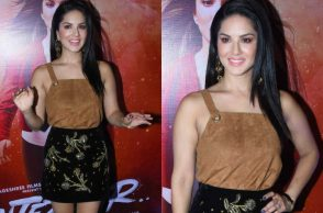 Sunny Leone at the trailer launch of Tera Intezaar