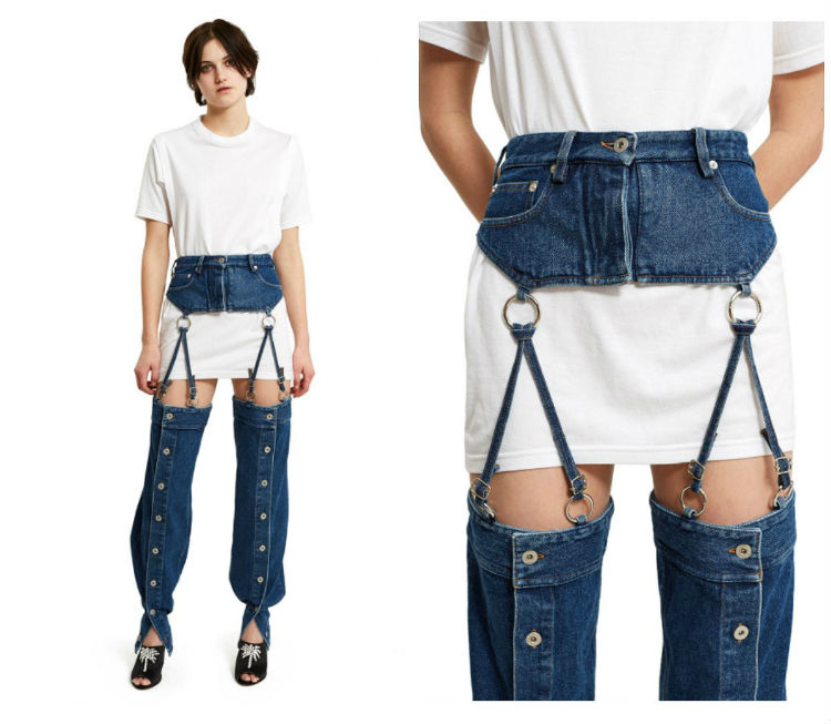 543ef776a7 Men s Suspender Jeans. Assuming that you intend to wear only suspenders  with the pants you have attached buttons to