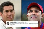 Ross Taylor gets trolled by Virender Sehwag for his surname despite playing a match-winningknock
