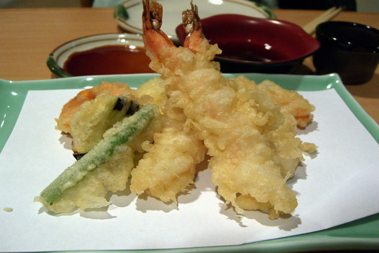 Tempura, japanese food