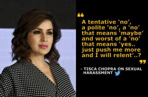 Tisca Chopra, Victim Blaming, Sexual Harassment