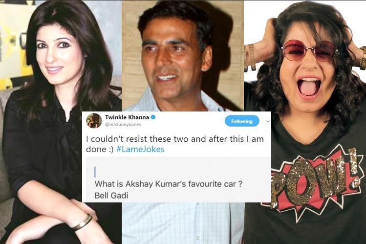 Twinkle Khanna, Akshay Kumar Mallika Dua controversy, Twinkle Khanna twitter