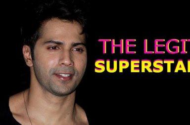Superstar Varun Dhawan