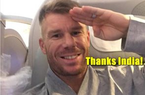 David Warner, India vs Australia 3rd T20I, Hyderabad T20I, Australia vs India, David Warner salutes India, David Warner Instagram, Guwahati incident