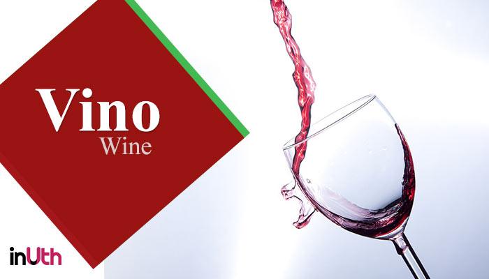 Wine, italian food