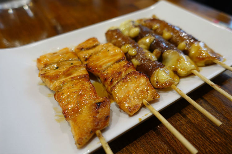 Yakitori, japanese food