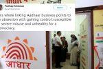 'Linking Aadhaar with bank accounts mandatory': RBI's diktat has Twitterdivided