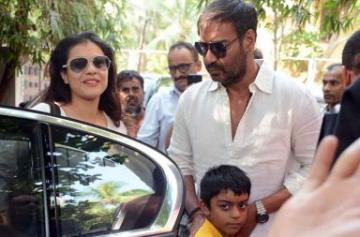 Ajay Devgn watches Golmaal Again with family