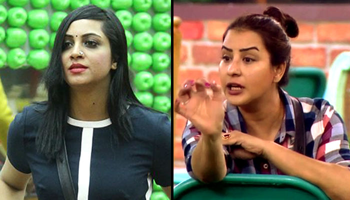 Image result for arshi shilpa bigg boss 11