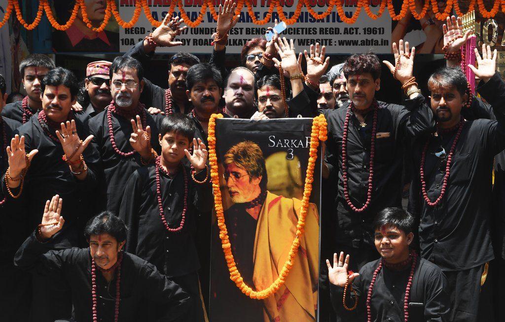 Amitabh Bachchan's fans in Kolkatta