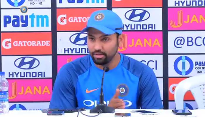 Rohit Sharma challenges New Zealand ahead of 1st ODI, says we are ready – Watch Video