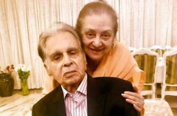 Dilip Kumar, Saira Banu's 51st wedding anniversary pic