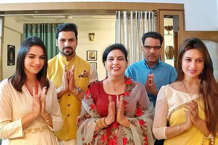 Divyanka Tripathi and Vivek Dahiya's Diwali celebrations