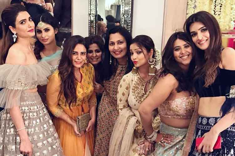 Inside pics from Ekta Kapoor's Diwali bash
