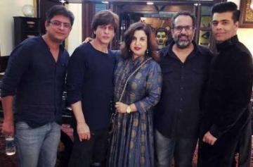 Shah Rukh Khan's Diwali party photo