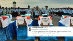 Why did IAF soldiers come home in cardboard boxes? Twitter outrages
