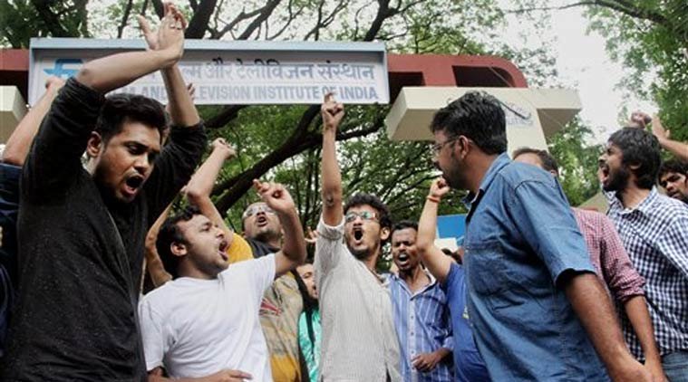 Strikes at FTII, Pune