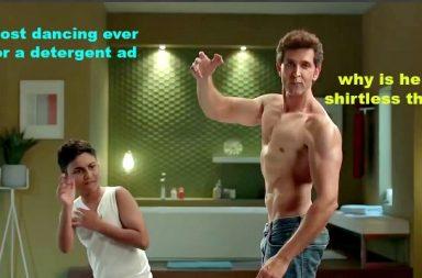Ads by Bollywood actors, Hrithik Roshan, Shah Rukh Khan, Ranbir Kapoor, Amitabh Bachchan