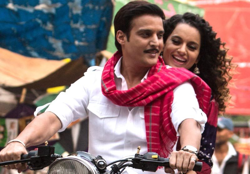 Jimmy Shergill and Kangana Ranaut in Tanu Weds Manu Returns
