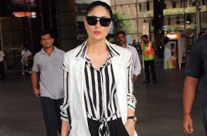 Kareena Kapoor airport look photo