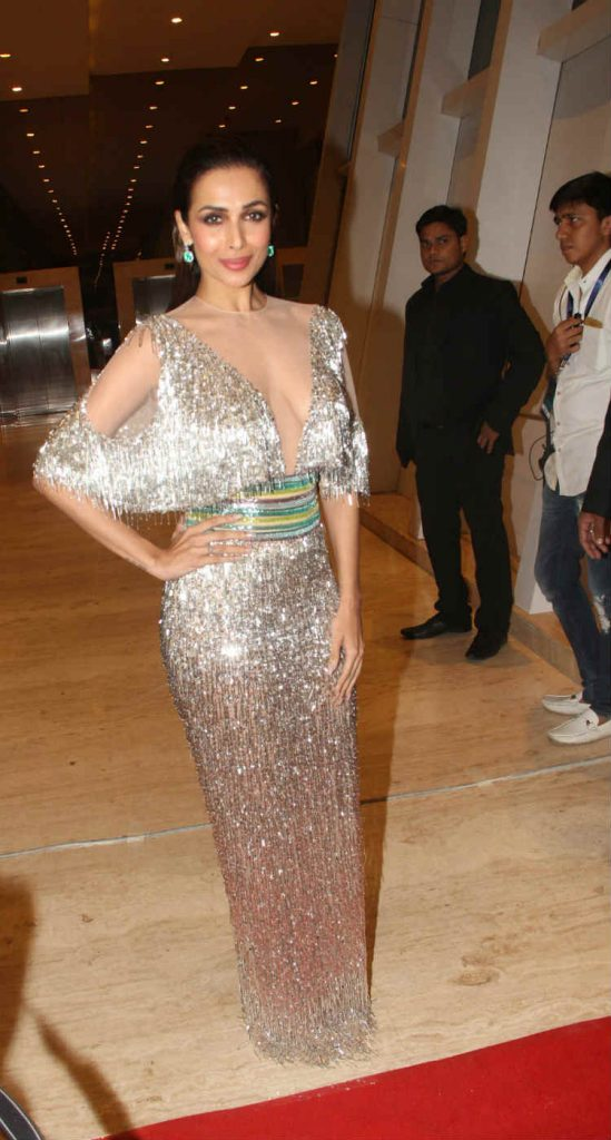 Malaika Arora in a LabourJoise gown