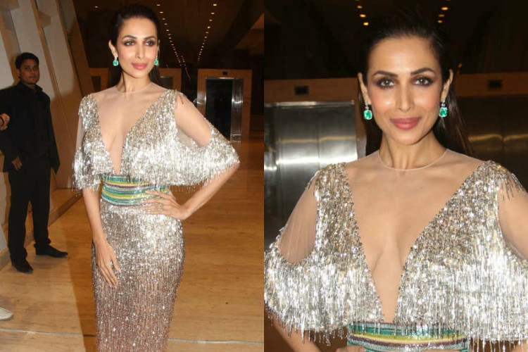 The cost of Malaika Arora's silver shimmy outfit could fund your bachelorette party on a private yacht