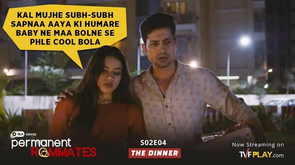 A still from Permanent Roommates