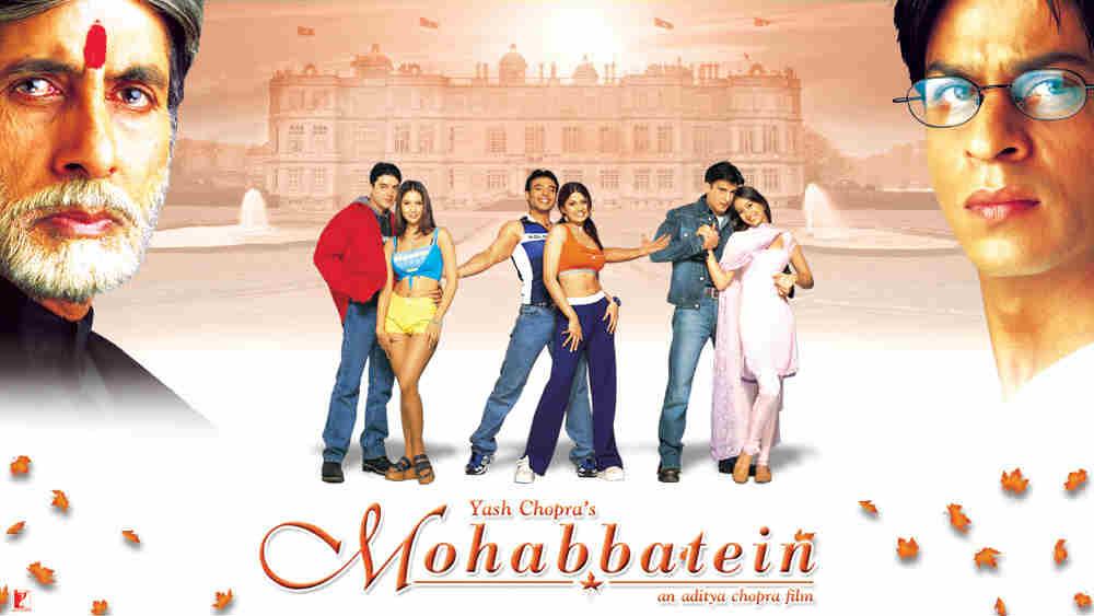 Mohabbatein poster