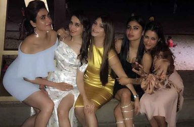 Mouni Roy parties and events