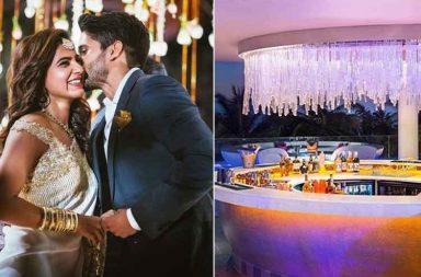 The wedding venue of Samantha Ruth and Naga Chaitanya in Goa photo