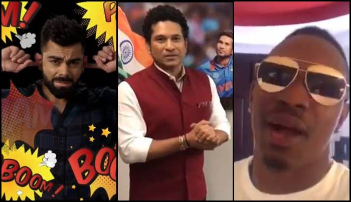 Virat Kohli, Sachin Tendulkar ask fans to celebrate noiseless Diwali, DJ Bravo also sends a special message