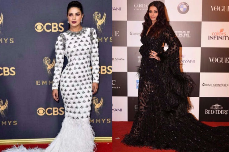 Loved Priyanka Chopra and Aishwarya Rai's feather gowns? You can never pull-off these at your wedding!