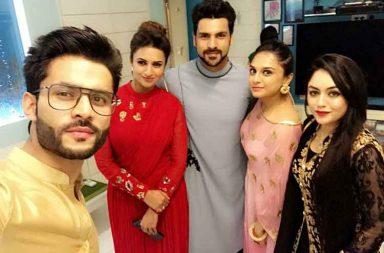 TV celebs attend Sandiip Sikcand's Diwali party