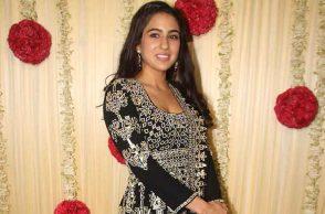 Sara Ali Khan Parties Pic